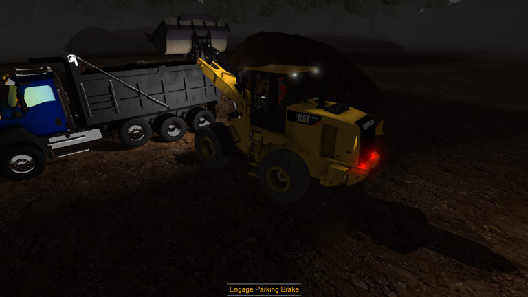 CSE Software Inc. Develops Small Wheel Loader Simulation