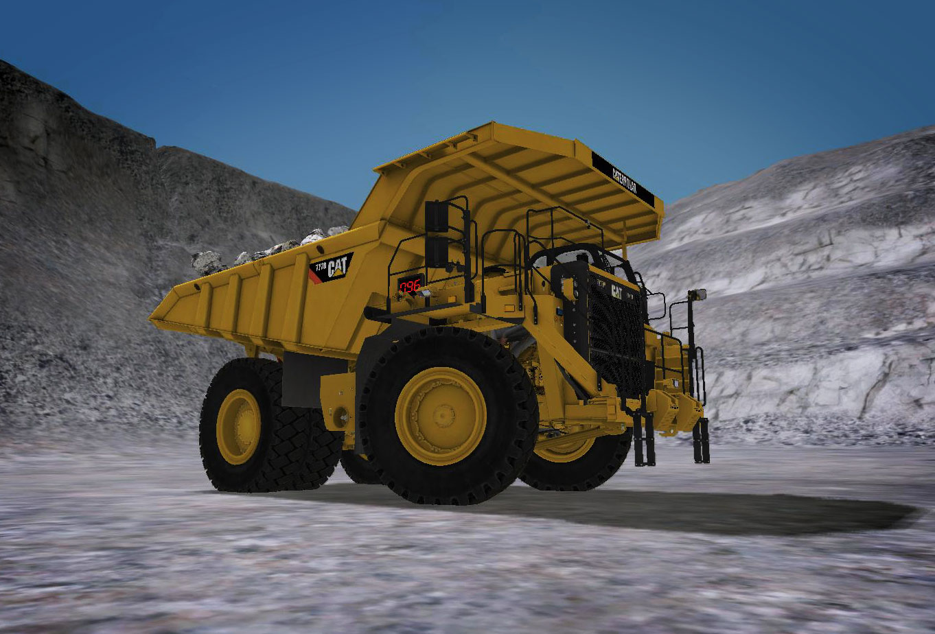 CSE Software Inc. Develops Off-Highway Truck Simulation