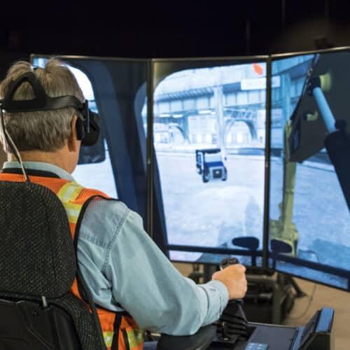 VR Excavator Simulator