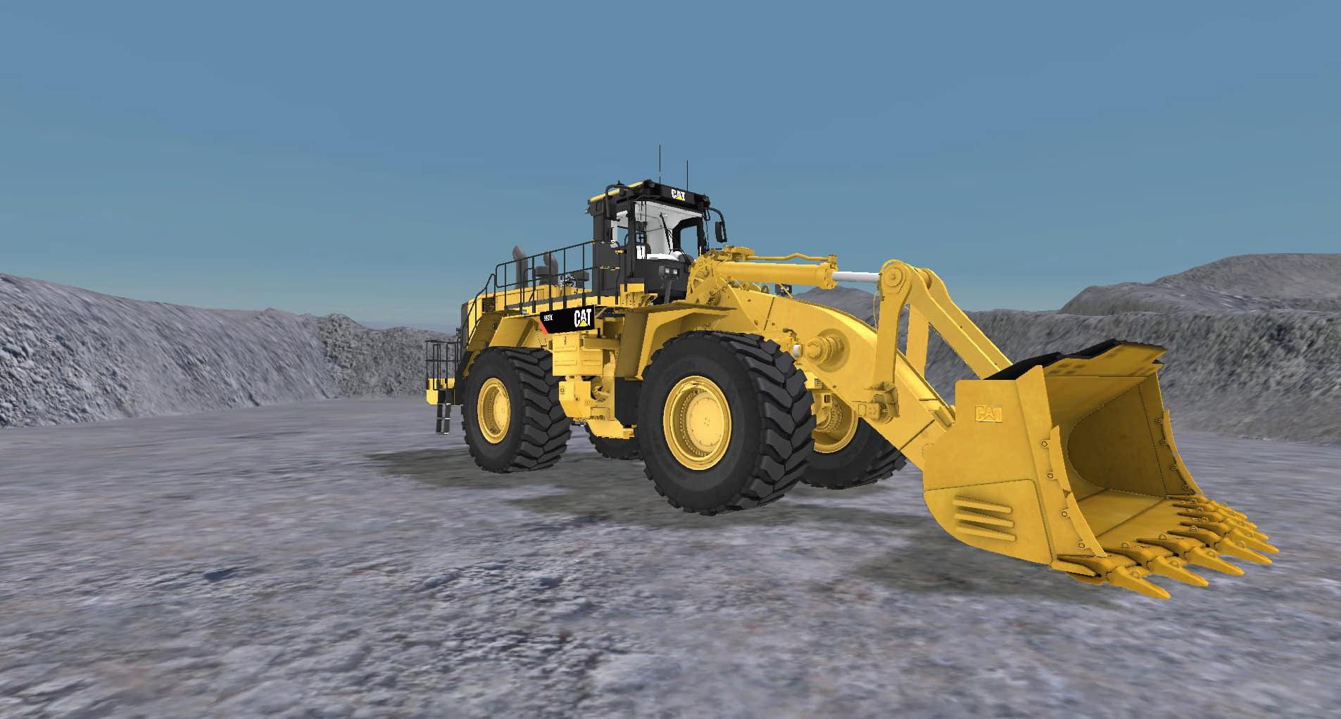 CSE Software™ Inc. Develops Large Wheel Loader Simulation