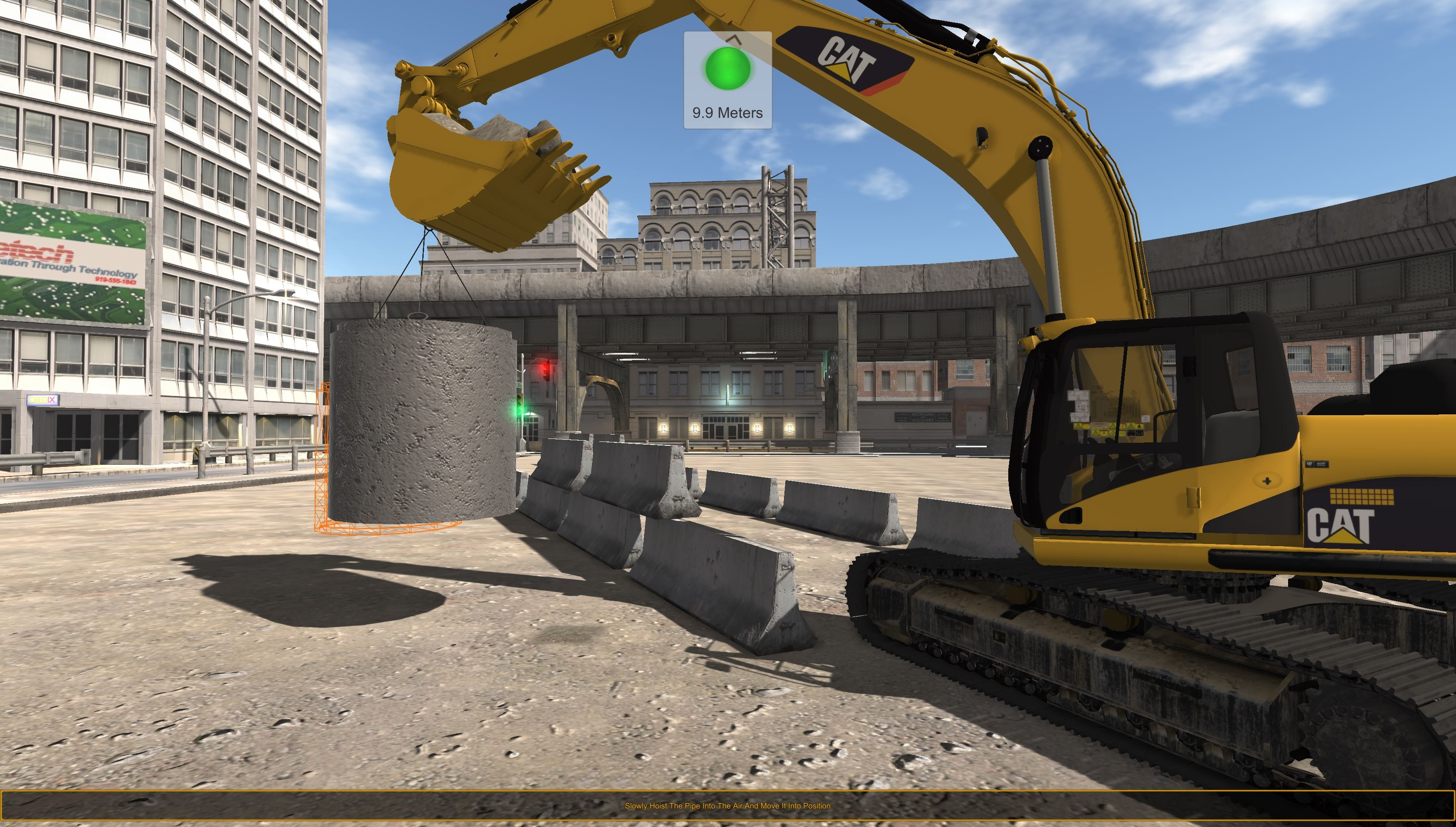 CSE Software™ Inc. Announces Advanced Construction Excavator Simulation Development