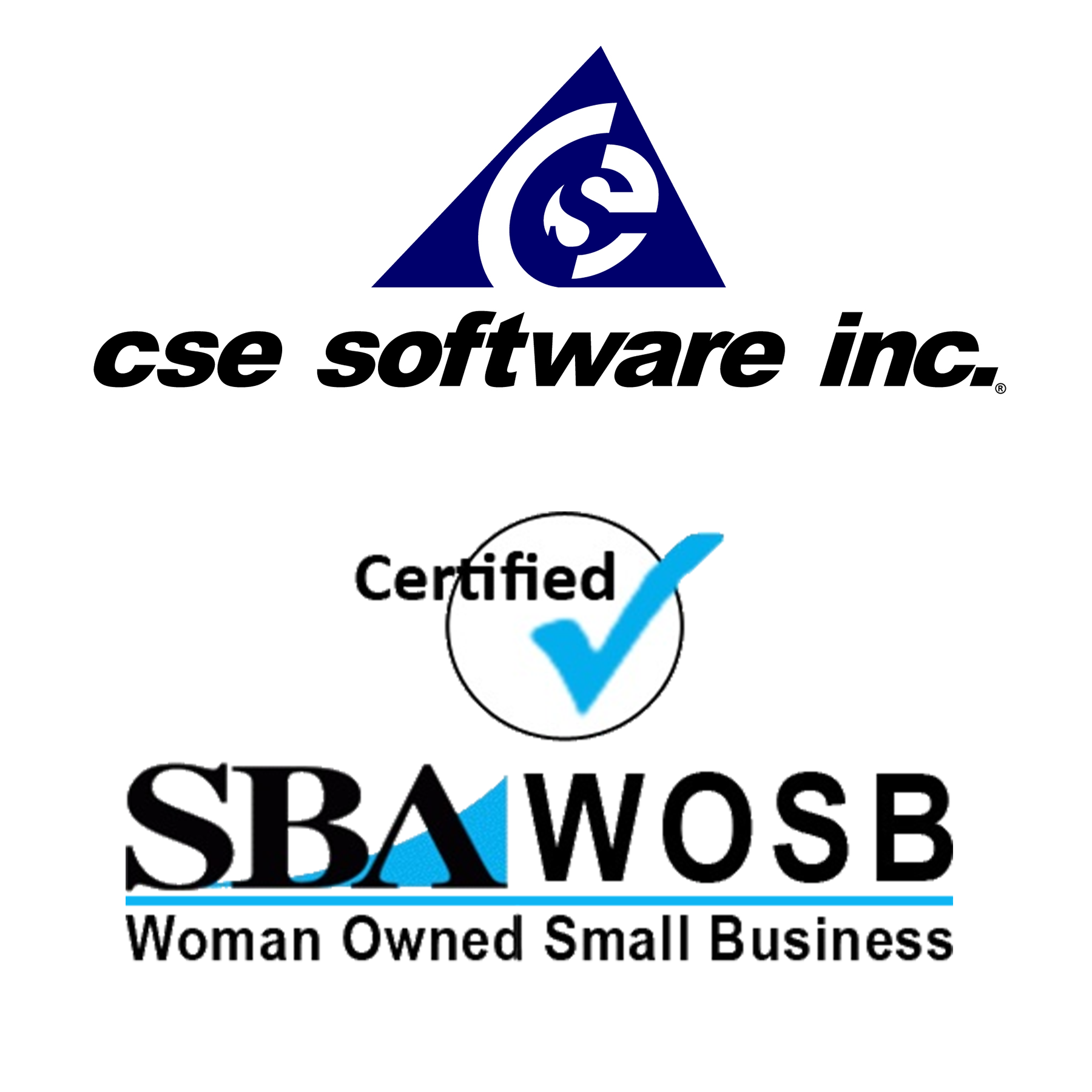 CSE SOFTWARE® INC. NOW CERTIFIED WOMEN OWNED SMALL BUSINESS